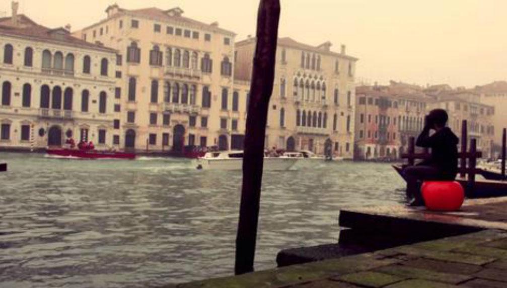 Voando em Veneza