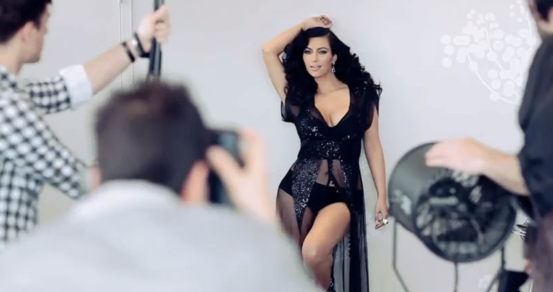 Kim Kardashian 2012 Esquire Magazine Photoshoot