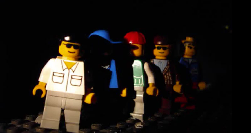 Beat It Versão Lego