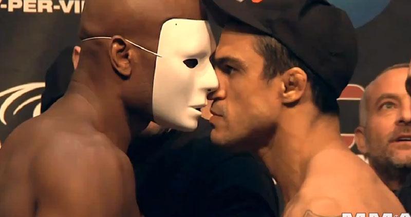 Pesagem Vitor vs Anderson