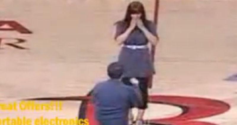 Pedido de Casamento Rejeitado na NBA