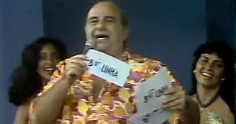 Rita Cadillac no programa do Bolinha