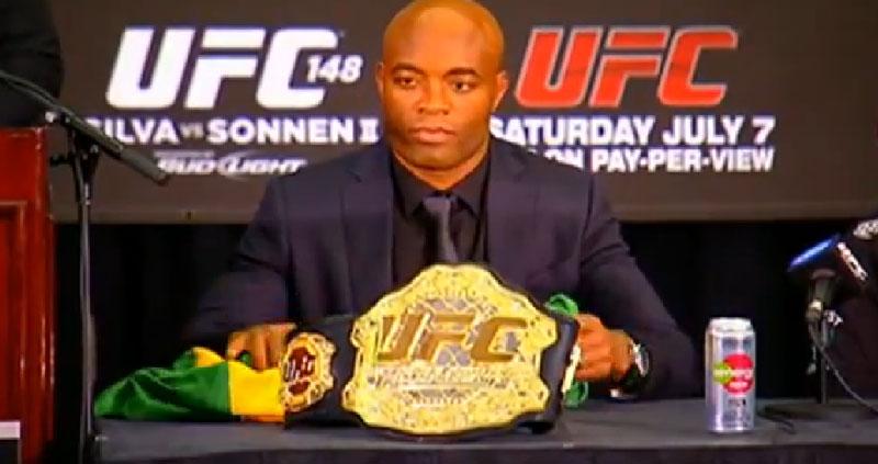 UFC 148: A. Silva em Entrevista pós-luta