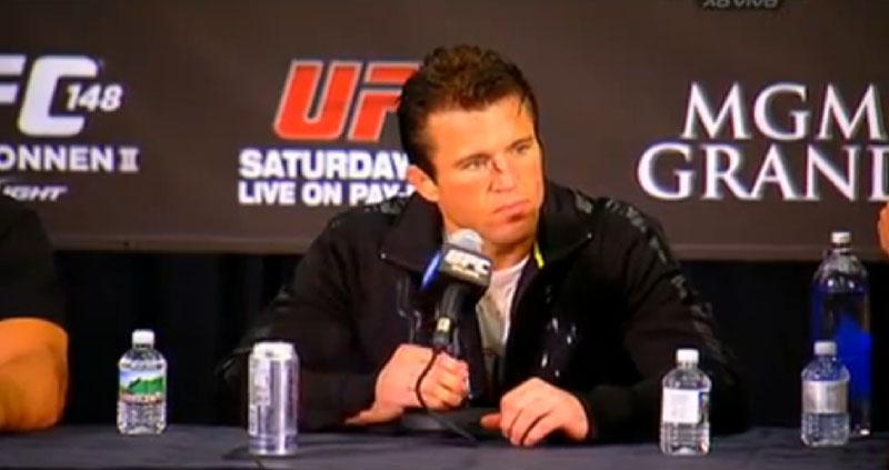 UFC 148: Sonnen em Entrevista pós-luta