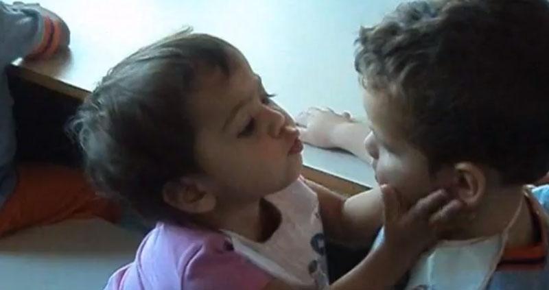 Namoro entre crianças