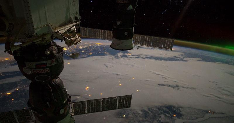 Vista da Estação Espacial Internacional